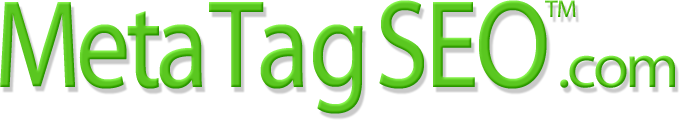 Meta Tag SEO Trademark and MetaTagSEO.com  Logo